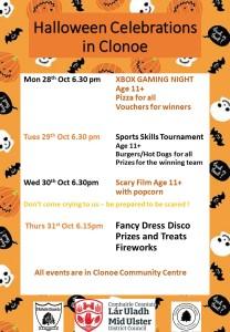 Halloween Celebrations in Clonoe B