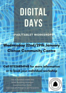ipad_tablet Workshop Poster