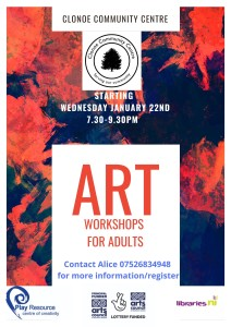 play resource art workshops